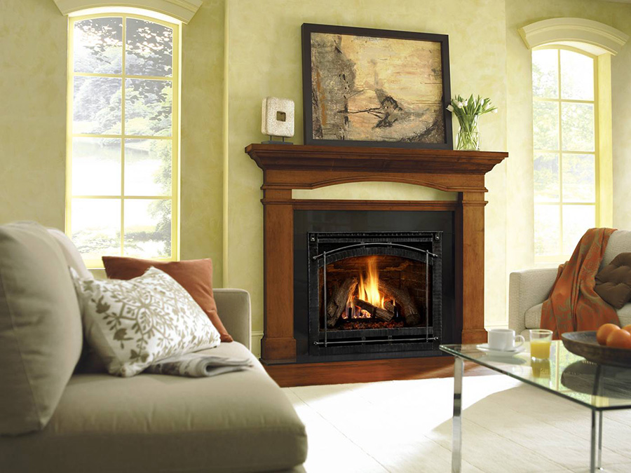 gas fireplaces gallery