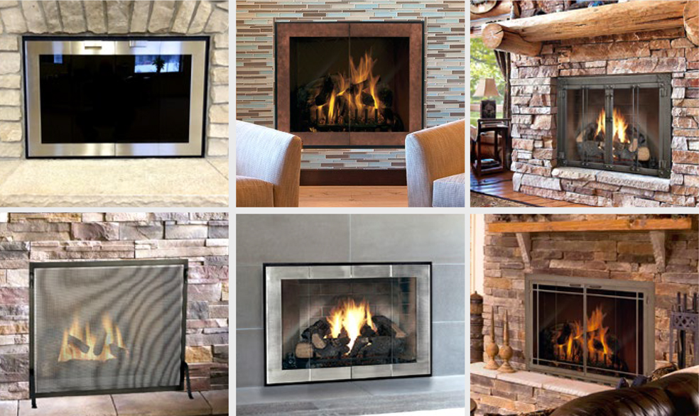 Fine Fireplace Doors Fireside Hearth Home Download Free Architecture Designs Scobabritishbridgeorg